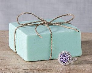 Another organic soap you can order with a ring inside valued between 10.00-7,500.00.