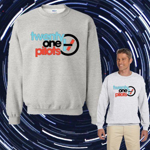 Twenty_One_Pilots Logo Unisex Adult sweater Crewneck Sweatshirt