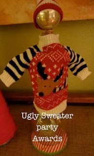 Pumpkin Loves: ugly sweater party: the awards