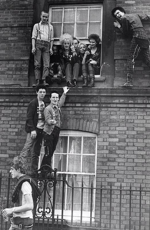 #Punk London, 1979. LNA/Evening Standard / Getty Images
