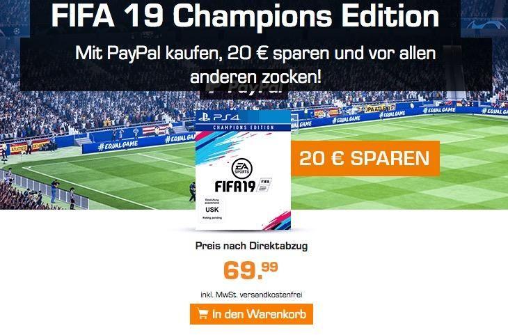 Fifa 19 Champions Edition Ps4 Fifa Champions Zocken