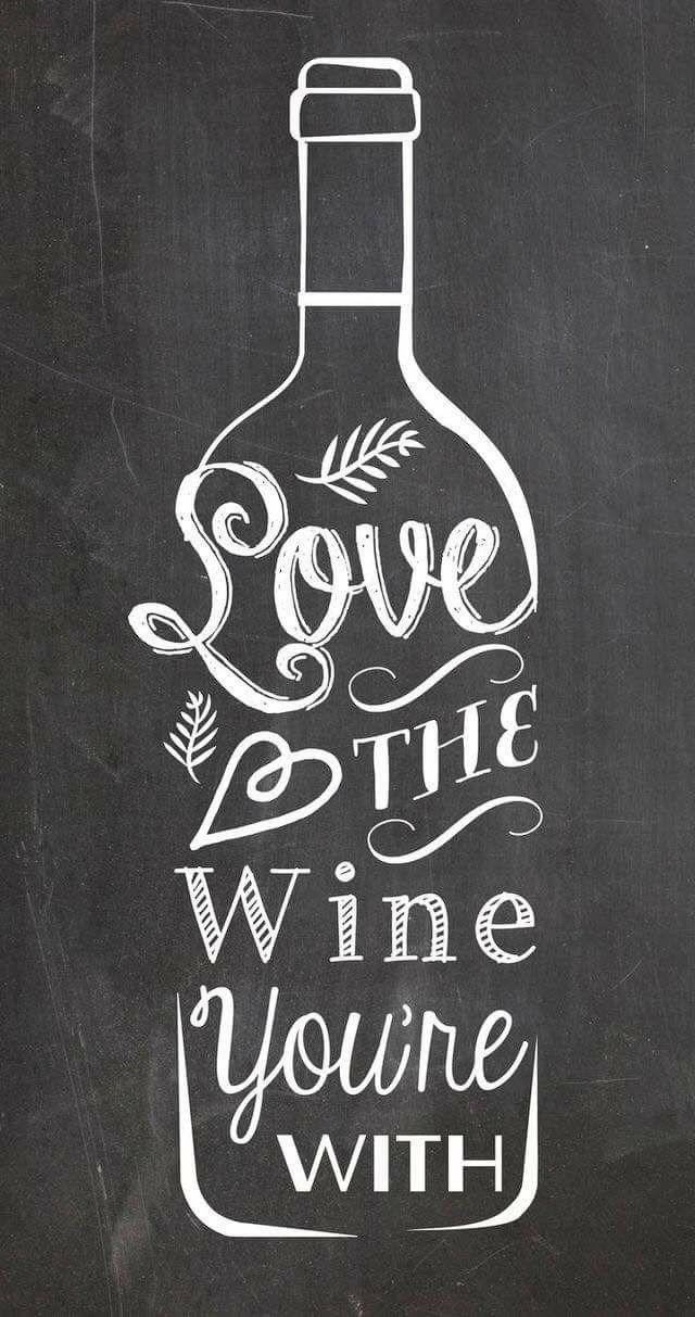 Download Love the wine you're with   Тосты, Рисование картин мелом ...