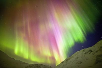 Aurora Borealis or Northen Lights in Alaska