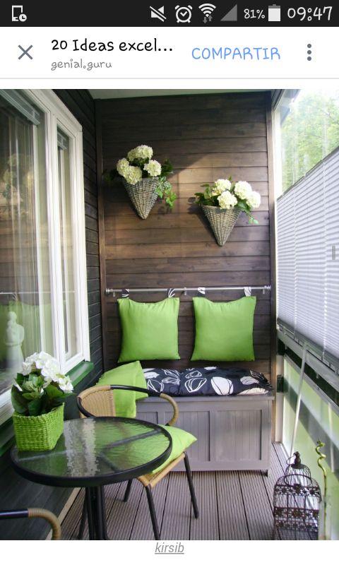 Balcon decorado