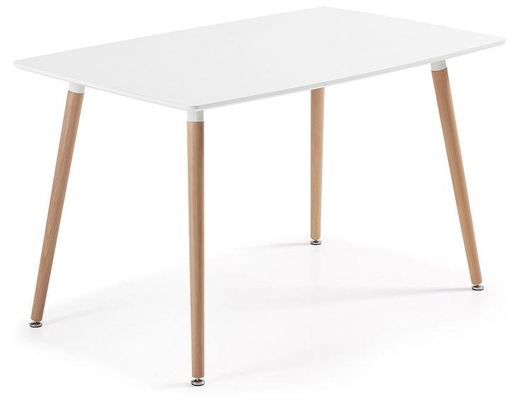 LaForma :: Stół DAW 140 x 80cm Biały  1 179,00 zł