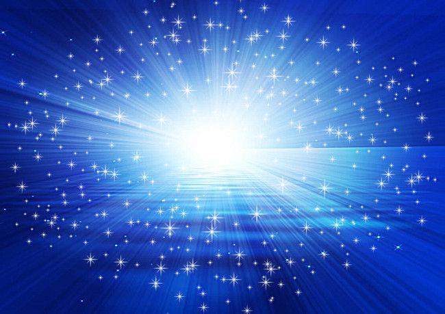 النجوم ساطعة زرقاء زاهية طباعة خلفية Blue Backgrounds Blue Aesthetic Paper Light