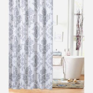 Battenberg Vinyl Shower Curtain