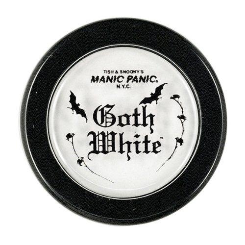 "Manic Panic ""Goth White"" Powder Cream Foundation Manic Panic,http://www.amazon.com/dp/B0010O3URU/ref=cm_sw_r_pi_dp_NT-Fsb1HF8VKKHA6"