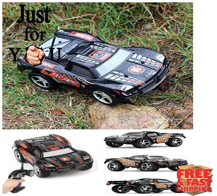 Christmas Gift For Kid Boy RC Car Remote Control 2WD Stunt Racing Off road Truck #WLtoys
