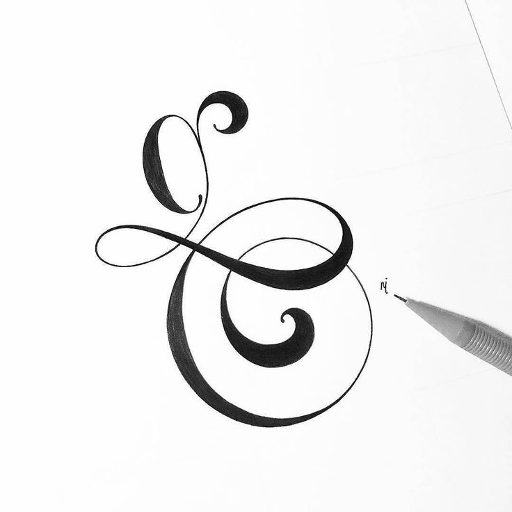 Best images about calligraphy single letters on