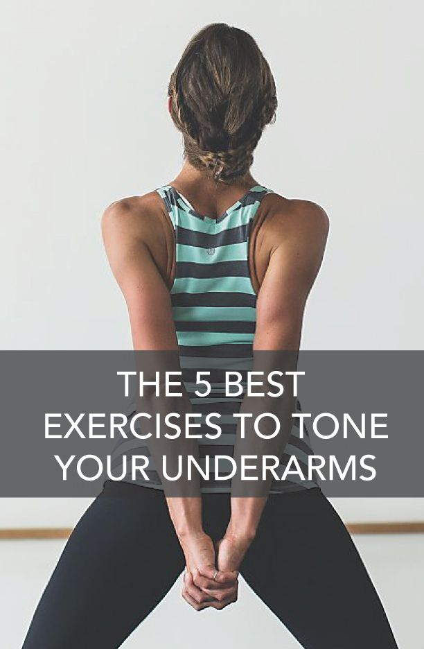best exercises to tone loose underarm skin