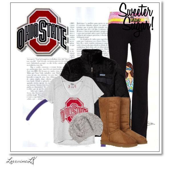 """Ohio state game"" by funkymonkeypunkygirl on Polyvore"