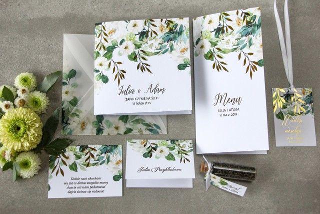 Zaproszenia Slubne Rubin Nr 1 Wedding Paper Place Card Holders Wedding Trends