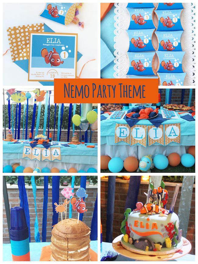 Compleanno a tema pesciolino Nemo. Il nostro Nemo Party per il primo compleanno…