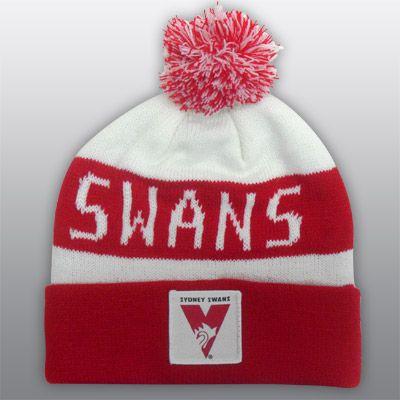 Sydney Swans Beanie. #swans #Sydney #AFL #footy