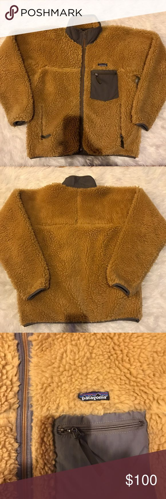 Patagonia retro X jacket. GREAT condition. Size M Patagonia retro X jacket. Super cool dark mustard color. In great condition. Size medium, would definitely fit a large as well Patagonia Jackets & Coats