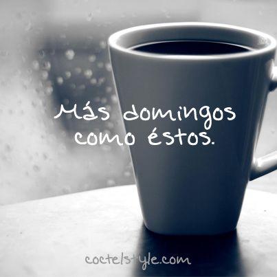 #CoctelStyle #Coffee #Cafe #Rain #lluvia