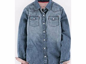 Johnnie  b Denim Shirt, Vintage Wash 34227868 A perfect boyish jean shirt, slimmed-down a touch for the girly wearer and fashioned from lovely washed denim. Layer over T-shirts and dresses, or button right up to the collar for a cleaner cut. http://www.comparestoreprices.co.uk/kids-clothes--girls/johnnie-b-denim-shirt-vintage-wash-34227868.asp