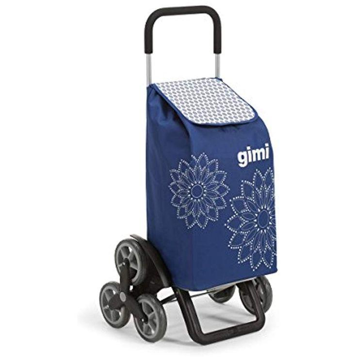 Gimi Tris Floral Einkaufstrolley blau #Koffer Ruck…