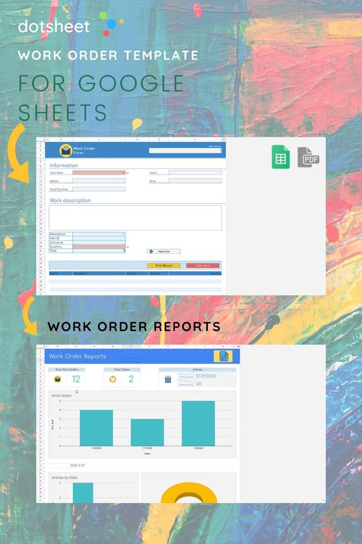 If you're new to it, here's how to use google sheets, including opening, editing, and sharing spreadsheets. Work Order Template For Google Sheets In 2021 Google Sheets Templates Pdf Templates