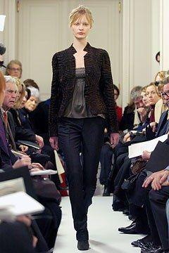 Akris Fall 2004 Ready-to-Wear Fashion Show - Ksenia Maximova (CITY)