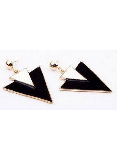 http://www.ovstore.nl/nl/huismerk-dubbele-driehoek-oorbellen-zwart-wit.html