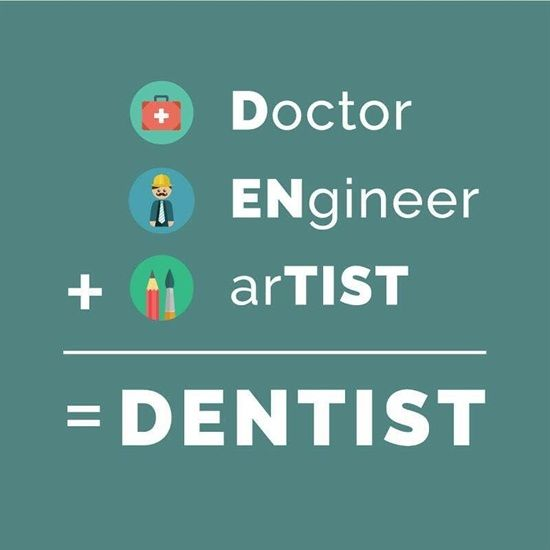 Dentaltown Doctor ENgineer ArTIST = DENTIST Dentaltown Adorable Dentist Quotes