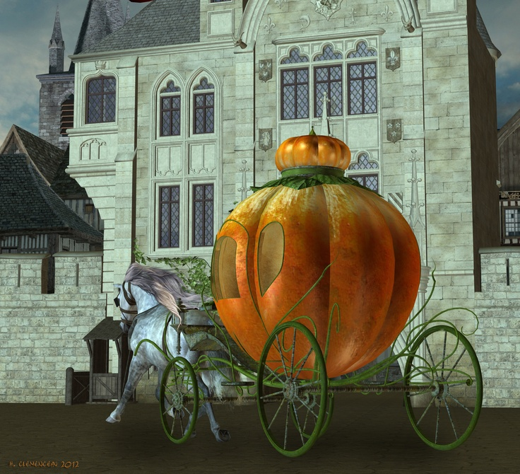 St. Michael's Gate and pumpkin carriage