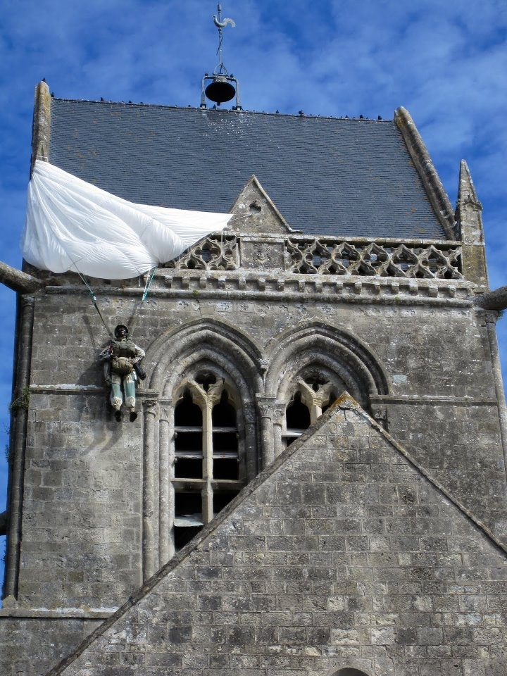 Normandy is one of the most beautiful regions of France. It's also the site of one of the biggest battles in history. The World War II D-Day invasion left its mark on the area. See the landing beaches at Utah and Omaha. Visit the village of Sainte-Mère-Église, the first town liberated by U.S. troops. John Steele, a paratrooper whose chute snagged on the steeple of the village church, could only watch the battle as he hung above...  http://www.normandie-tourisme.fr/normandy-tourism-109-2.html