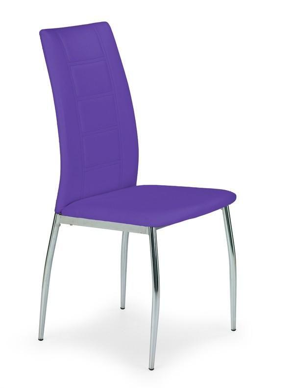 Moderne paarse eetkamerstoel zeer scherp geprijsd!