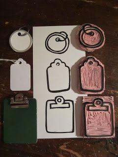 Sellos etiquetas  -  Stamps tags