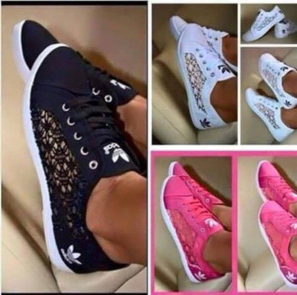 shoes adidas womens shoes trainers chic crochet adidas crochet pumps sneakers trainers lace pumps