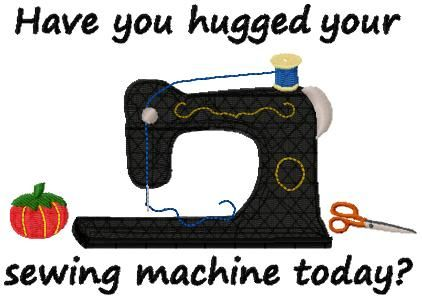 Machine Embroidery Designs - Sewing Humor