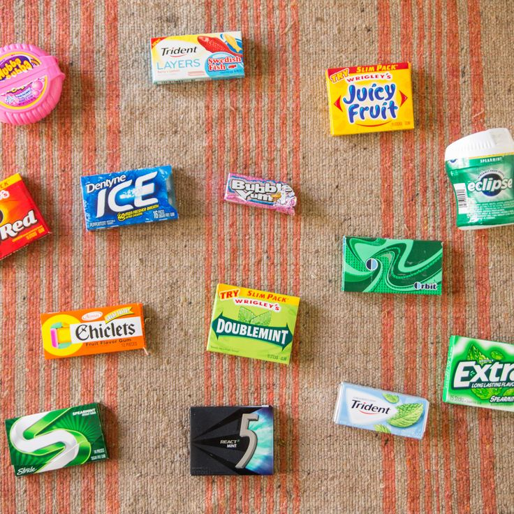 Which Chewing Gum Lasts the Longest? We Timed 14 Brands.