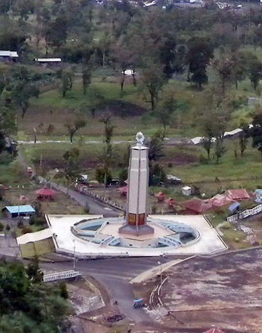Bukit Kasih, Sulawesi Utara   Tempat yang mempunyai 5 rumah ibadah di satu lokasi.