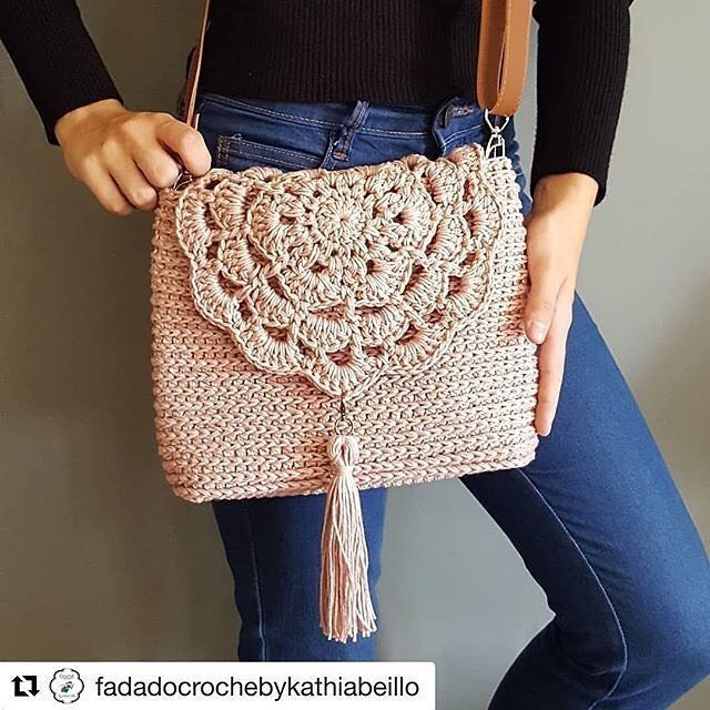 Häkeln Sie süße Taschen, Strandtasche und Handtasche Bildmuster für 2019; Häkeltaschen p … …