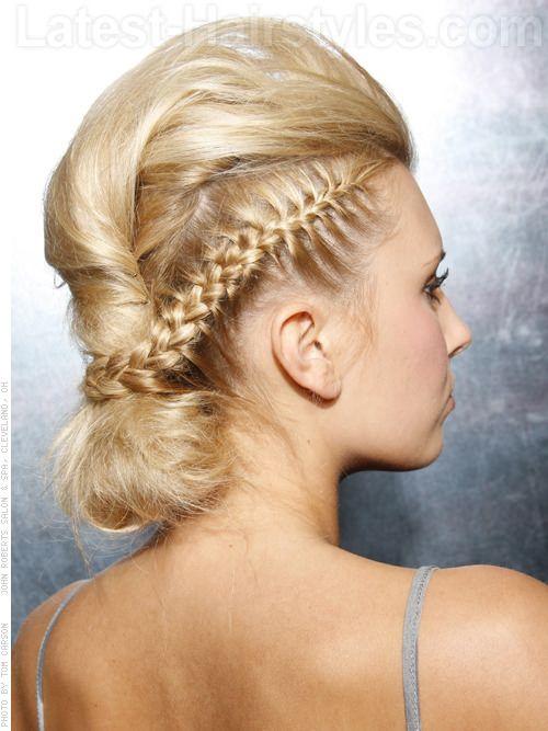 Astounding 1000 Images About Braid Love On Pinterest Updo Crown Braids Short Hairstyles For Black Women Fulllsitofus