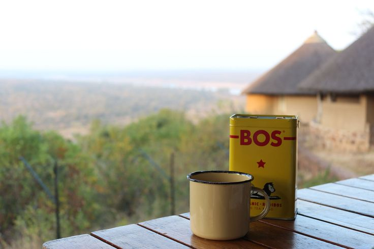 Enamel mugs essential for rustic traveling and camping! And I keep sugar in a repurpsoed tea can for easy access. http://66squarefeet.blogspot.com/2013/06/morning-in-kruger.html