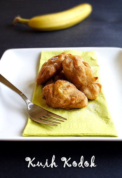 (Malaysian Fried Banana Fritters) | Recipe | Fried Bananas, Banana ...