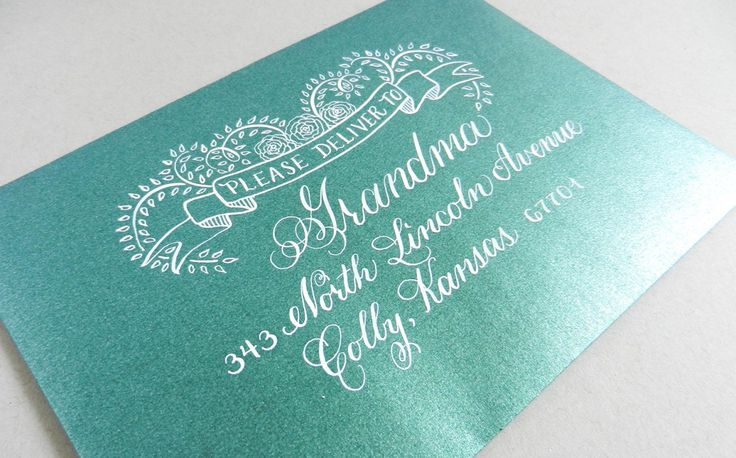 10 Best Images About Calligraphy On Pinterest Wedding Invitation Addressing