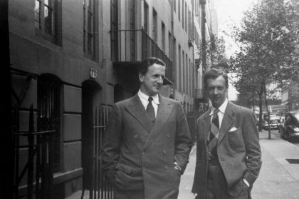 Britten and Peers in New York