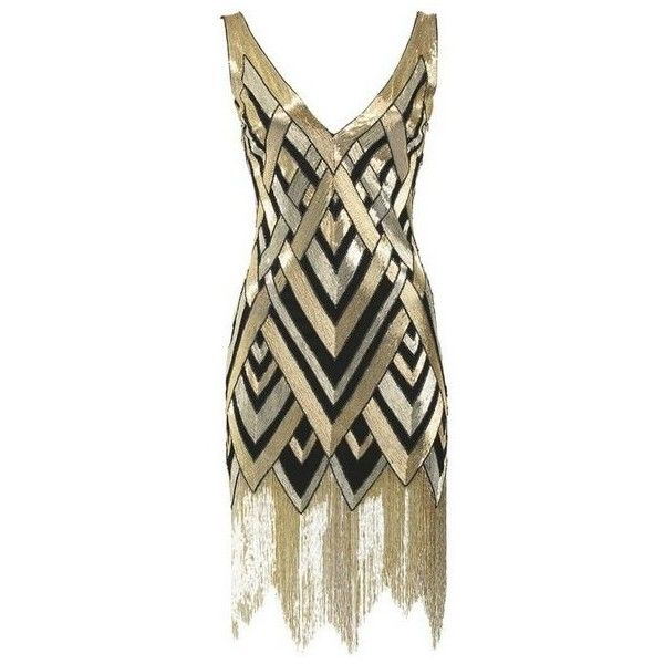 The Roaring Twenties // Bergdorf Goodmananniversarygown-1920's art deco... and other apparel, accessories and trends. Browse and shop related looks.