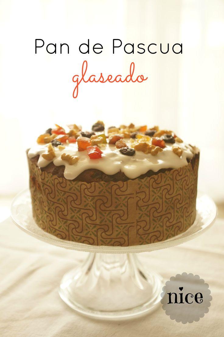 Pan de pascua glaseado /  chilean christmas cake