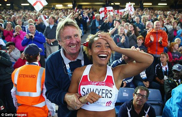 England's Jazmin Sawyers leaps to silver medal in long jump final at Commonwealth Games in Glasgow | Mail Online