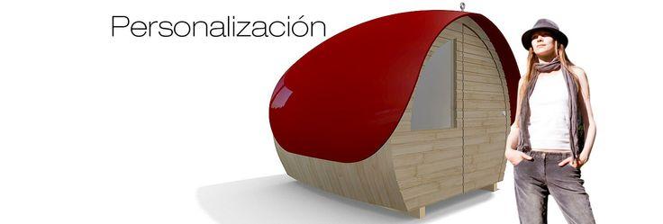 Posibilidad de poder personalizar su bungalow de madera #arquitectura #bungalows #madera
