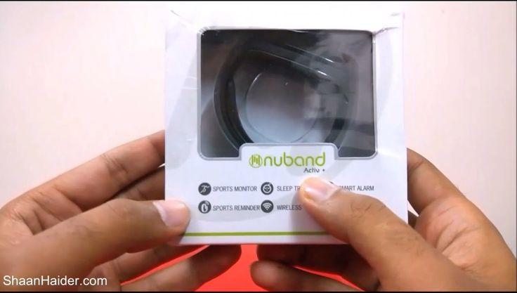 nice NuBand Activ+ Fitness Tracker : Unboxing and First Impressions