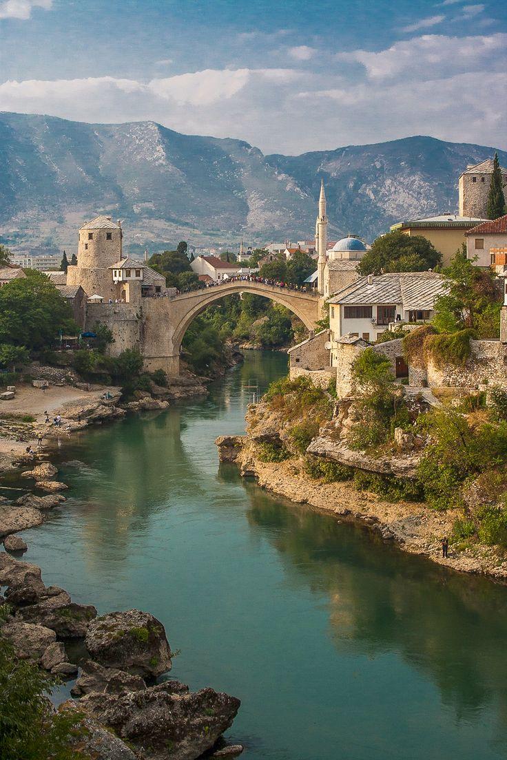 Stari Most bridge in Bosnia & Herzegovina