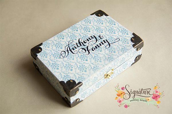 Chinoiserie Wedding Ring Box