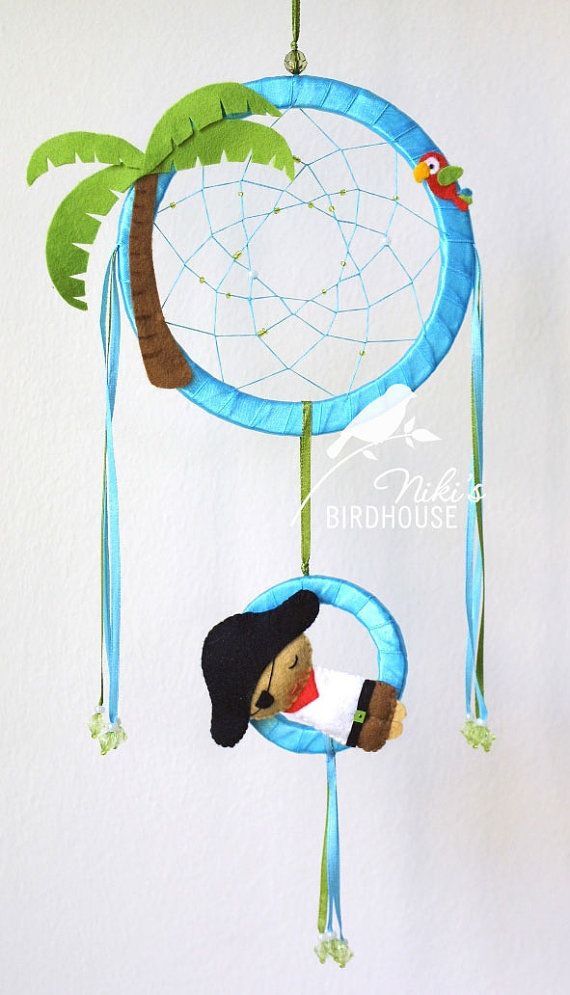 Pirates of the Carribbean Dreamcatcher for por NikisBirdhouse