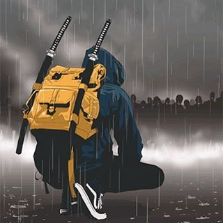 Urban samurai by @nkn_one • • • • •  #shinobi #assasin #warrior #samurai #manga #ниндзя #katana #art #digitalart #бусидо #japan #bushido #катана #воин #fantasy #blade #Ninja #самурай #Япония #samurai #japan #japanese #japan #japanesestyle #anime  #animeart #fantasyart#drawings#asian #ronin #ронин